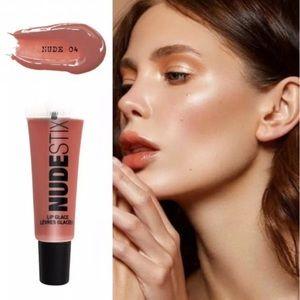 NEW Nudestix Nude Plumping Lip Glace Nude 04
